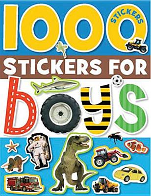 1000 Stickers for Boys By Cox, Katie